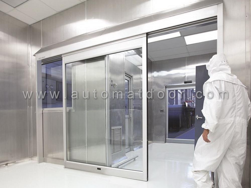 درب اتوماتیک شیشه ای بیمارستانی